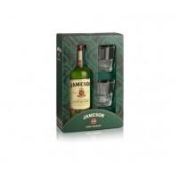 Виски Ирландии Jameson / Джемесон, 0.7 л (+2 бокала) [5011007004446]